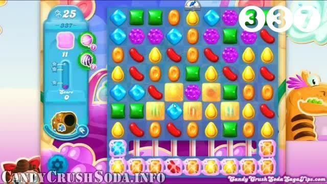 Candy Crush Soda Saga : Level 342 – Videos, Cheats, Tips and